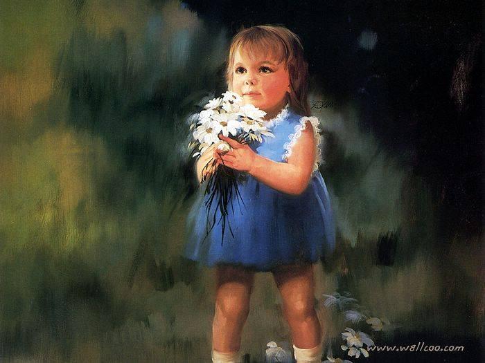 Mi niña, corazón de Dios